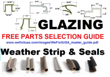 Free Snap-In Glazing Bead Master PDF Parts ID Catalog Online.