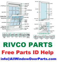 RIVCO, aka Riverside Millwork Corporation, went out of businees in 2007, after 40+ years of making and selling windows and doors - we now can offer solutions for repairs all across the New England states.