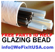 Attention Glaziers, Contractors, Get your Free Master Glazing Bead and Weatherstrip Parts [PDF] Online today at  http://www.wefixitusa.com/images/WeFixitUSA_master_guide.pdf